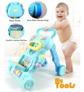 Mytools Baby Walker Children Early Education Learning Support Kids Toys Set