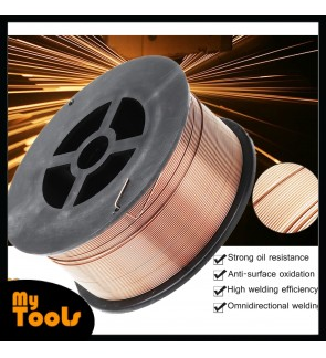 Mytools 1 Roll 0.8mm 1KG Gas Flux Cored MIG Welding Wire