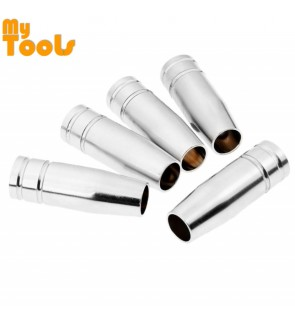 Mytools 5 Pcs MB15 MIG Welding Torch Gas Nozzle