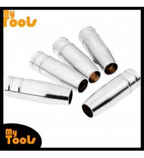Mytools 5 Pcs MB15 MIG Welding Torch Gas Nozzle