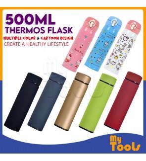 Mytools 500ML Vacuum Flask Stainless Steel LIFE Cup Coffee Tea Flasks Thermos
