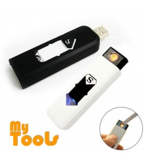 Mytools USB Rechargeable Lighter Smokeless Flameless Windproof Charging Electronic Cigarette Smoking Accessories