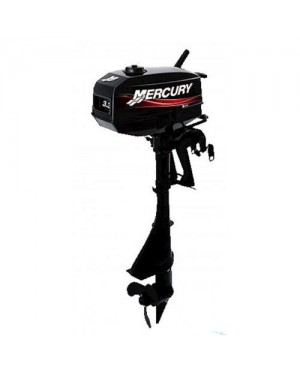 Mercury 3.3MH 3.3HP 2 Stroke Petrol Engine Outboard (Made In Japan)