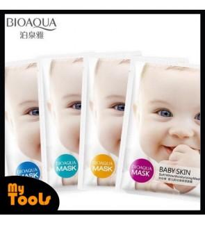 Bioaqua Baby Skin Moisturizing Facial Mask - Soft White Moisturizing