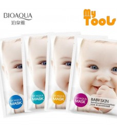 Bioaqua Baby Skin Moisturizing Facial Mask - Soft White Moisturizing 1 PCS
