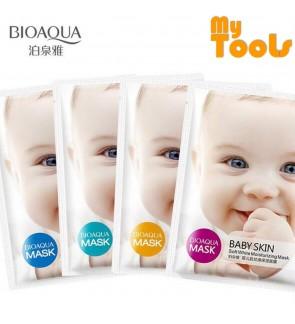 Bioaqua Baby Skin Moisturizing Facial Mask - Soft White Moisturizing 1 PCS