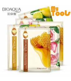 Mytools BIOAQUA 1 PCS Natural Essence Facial Mask Honey Rose Lime