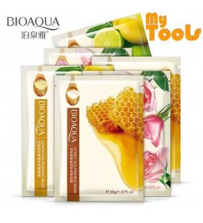 Mytools BIOAQUA 1 PCS Natural Essence Facial Mask Honey Rose Lime