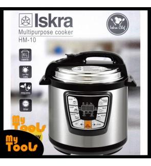 Mytools ISKRA Pressure Cooker 6L Multifunction Timer Electric Smart Kitchen Helper