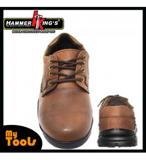 MYTOOLS HAMMER KING'S Safety Shoe Low Cut model: 13012- Brown