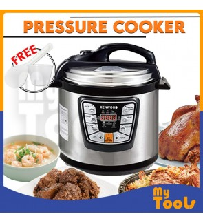 ( Malaysia 3pin plug) Kenwood bosch dessini iskra 6L/8L electric pressure cooker non stick stainless steel