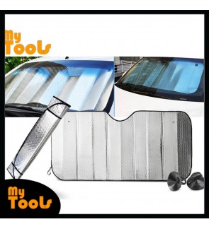130cm x 60cm Car Sunshade Solar Rock UV Rays Front Windshield SUV Trucks Vehicle Cool Sun Shades