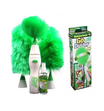 Go Duster Powered Operated Cleaning Brushes as seen on tv
