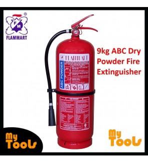 Mytools Flammart 9kg Fire Extinguisher ABC Dry Powder SIRIM Approved Pemadam Api