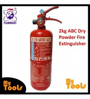Mytools Flammart 2kg Fire Extinguisher ABC Dry Powder SIRIM Approved Pemadam Api