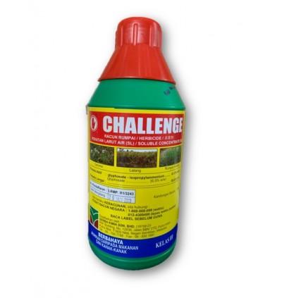 1L Challenge Glyphosate 41% Herbicide Racun Rumput