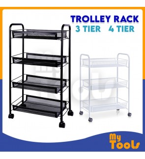 Mytools Trolley Rack Home Storage Office File Kitchen Organizers 3 tier / 4 tier / 5 tier