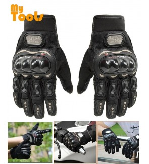 Mytools Riding Gloves  Pro Biker Carbon Fiber Bike Motorcycle Motorbike Racing Probiker Glove