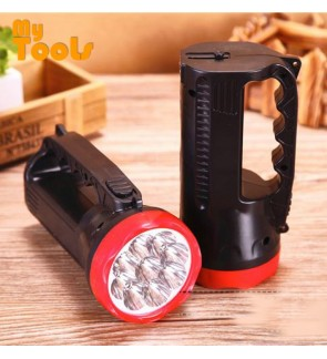 Mytools Rechargeable LED Torchlight Charging Portable Searchlight Outdoor Strong Light Camp Camping