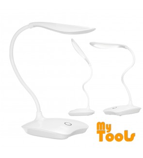 Mytools 3 Modes LED Desk Lamp Table Lamps Eye-caring Touch Control 360° Flexible Rotatable Hose Ultralight USB Rechargeable Desktop