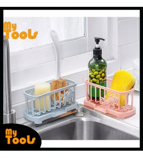 Mytools Sink Water Drain Container Filter Kitchen Shelving Organizer Shelf Plate Storage Rack Board