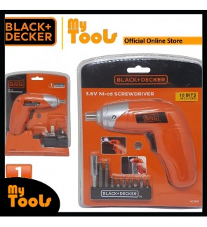 BLACK + DECKER KC3610 Cordless Driver 3.6V Ni-Cd Screwdriver