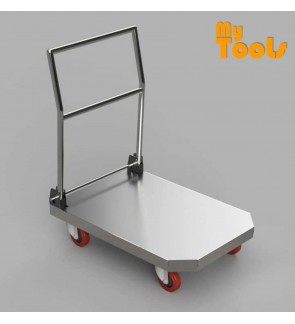 Mytools 300kg Super Heavy Duty Stainless Steel Metal Trolley