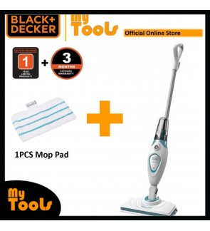 Black & Decker FSM1605-XJ Steam Mop With Standard Accessories ( FSM1605 )