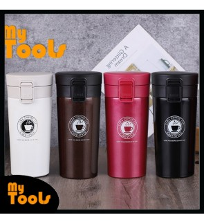 Mytools 380ml Stainless Steel Double Wall Vacuum Flask Thermal Coffee Bottle Cup Best Gift Annual Dinner