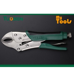 "Mytools Premium TUOSEN 10"" X 250mm Locking Plier Round Mouth Vise Durable Grip Locking Welding Quick Pliers"
