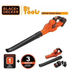 Black + Decker GWC1820PCF 18V Power Boost Blower Carry With 1pc Battery & Charger