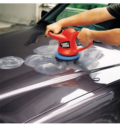 Black + Decker KP600 Car Polisher With Extra 1set Waxing / Polishing Pack ( KP600 )