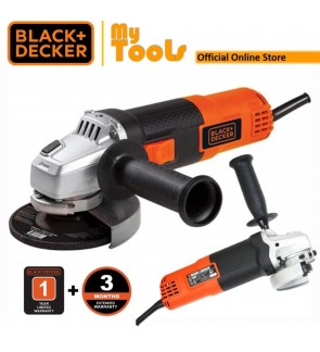 Black + Decker G720B 820W 100MM Small Angle Grinder ( G720B-B1 )