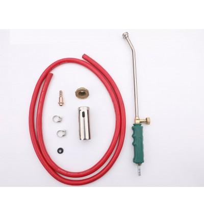 Mytools Premium Tuosen Liquefied Gas Flame Gun Blow Torch Ignition Fire Burner with Piezo Rubber Tube DIY Kit