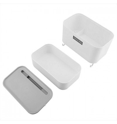 Mytools Multi-functional Wall Mounted Toilet Bathroom Tissue Box Waterproof Storage Rack