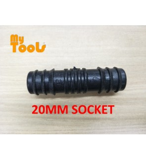 Mytools 20MM Straight Coupler Socket Irrigation Hydroponic Water Hose Connector Fertigasi