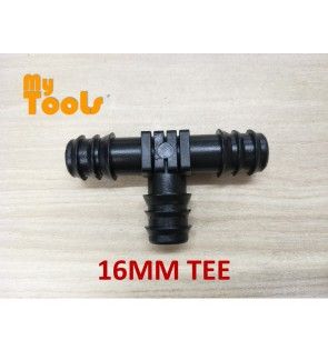 Mytools 16MM Equal Tee Irrigation Fitting Hydroponic Water Hose Connector Fertigasi
