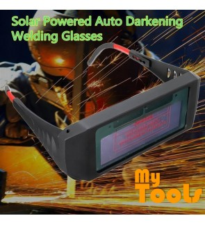 Solar Powered Auto Darkening Welding Helmet Eyes Shield Goggle Glass Glasses Arc