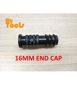 Mytools 16MM End Cap Endcap LDPE Pipe Poly Fitting Hydroponic Water Hose Connector Fertigasi