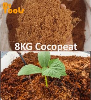 Mytools ±8KG Cocopeat Sabut Kelapa Natural Organic Fine Soil Medium Tanaman Polybag