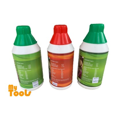 1L Plant Booster / Super N / Super K Foliar Fertilizer EDTA NPK / Baja Larutan Air ( from France)