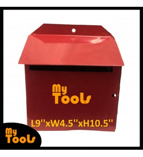 Mytools Metal Mail Box / Letter Box / Peti Surat Besi ( Made In Malaysia )