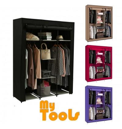 Mytools King Size Multifunctional Wardrobe Multi-functional Almari Baju Waterproof Dust Cover