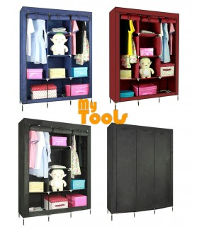 Mytools King Size Multifunctional Wardrobe Multi-functional Almari Baju Waterproof Dust Cover