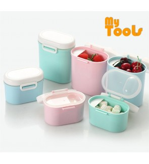 Mytools Baby Milk Powder Container Feeding Case Box Portable Formula Dispenser with Scoop BPA Free Food Storage, Candy Fruit Box, Snack Containers