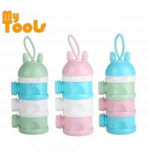 Mytools 3 Layers Portable Baby Milk Powder Formula Dispenser Food Container Candy Snack Box