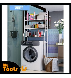 Mytools 3 Tier Layer Toilet Bathroom Washing Machine Rack Kitchen Laundry Living Storage Shelf / Rak Mesin Basuh