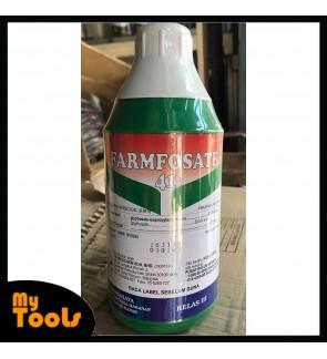 1 Liter Farmfosate Glyphosate 41% Herbicide Class 3 Racun Rumpai / Rumput