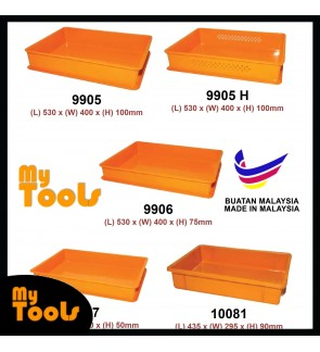 Mytools Cake Tray / Yellow Tray / Bakery Tray / Plastic Yellow Tray / Food Tray (Made In Malaysia)