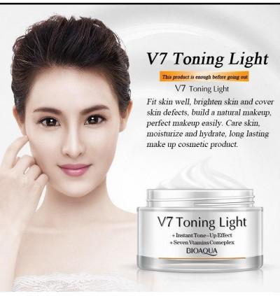 BIOAQUA V7 Toning Cream Deep Hydration Whitening Brightening Skin Toning Cream